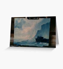 Ocean scene Greeting Card