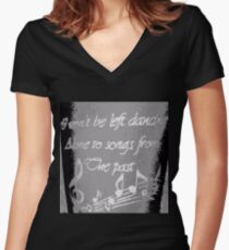 """Ella's Tattoo"" - B&W Clothing Women's Fitted V-Neck T-Shirt"