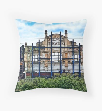 St Georges Theatre -- Yarraville, Victoria, Australia Throw Pillow