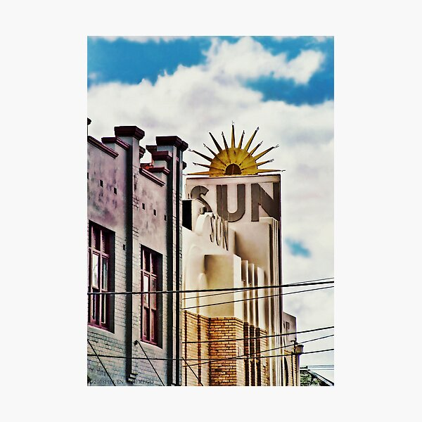 The Sun Theatre - Yarraville Photographic Print