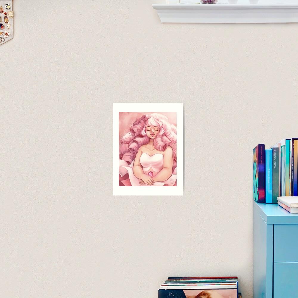 Rose Quarz Lámina artística