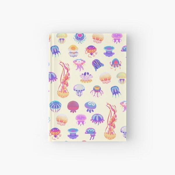 Jellyfish Day - pastel Hardcover Journal