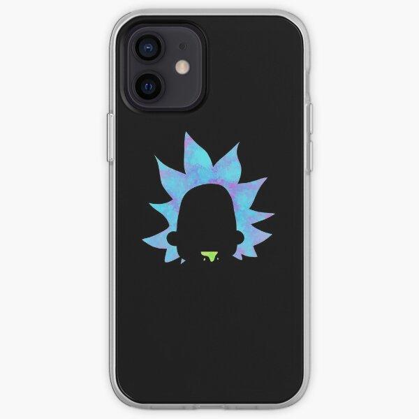 Rick Sanchez silhouette  iPhone Soft Case
