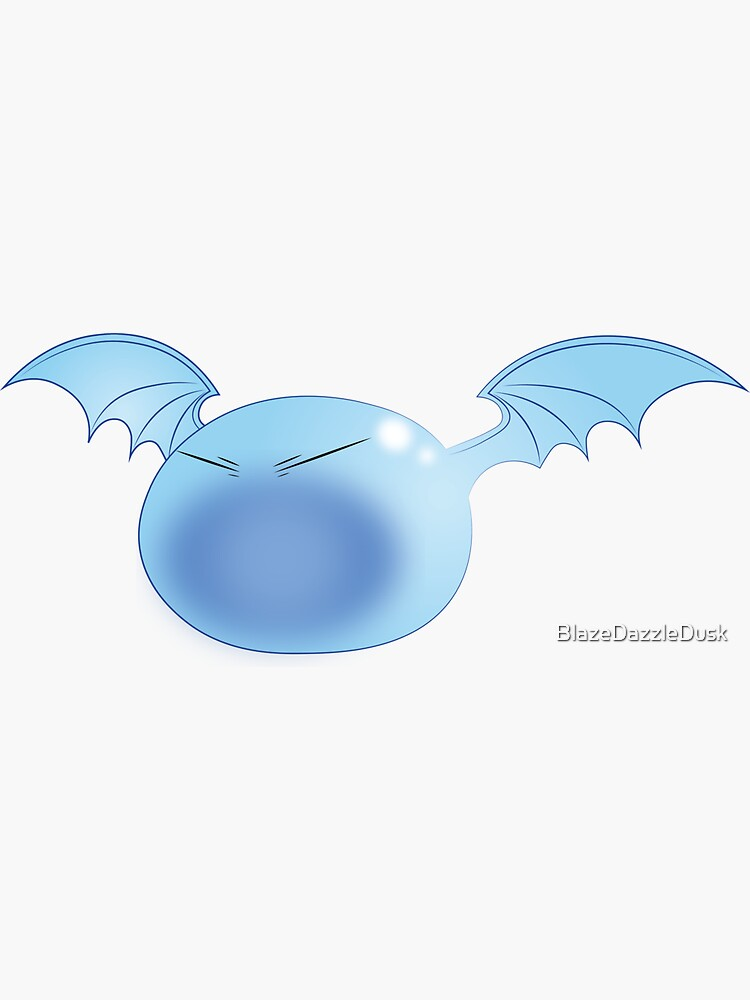 Winged Rimuru by BlazeDazzleDusk