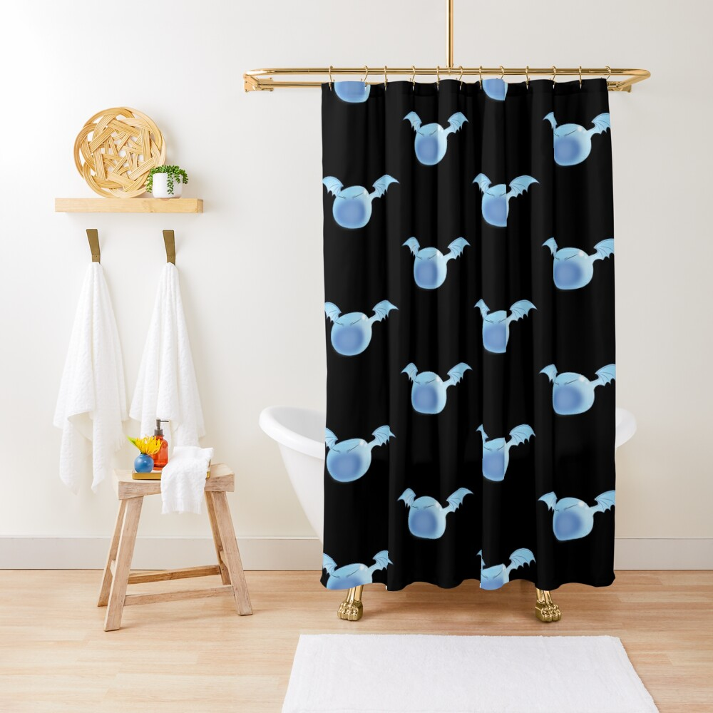 Winged Rimuru Shower Curtain