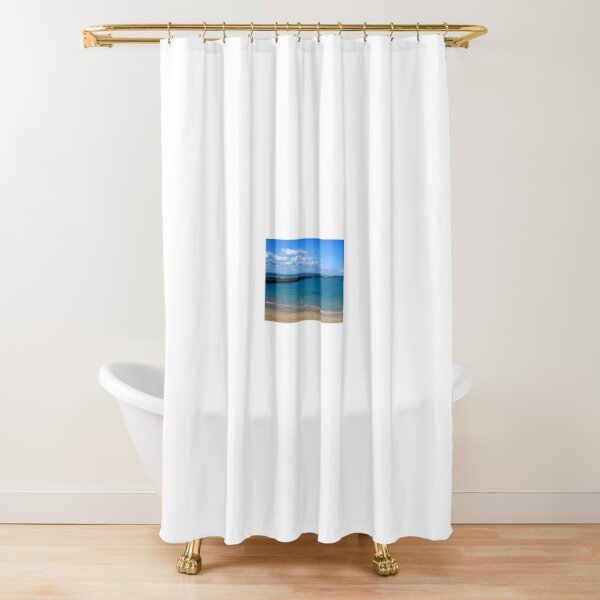 A mere remnant! Shower Curtain