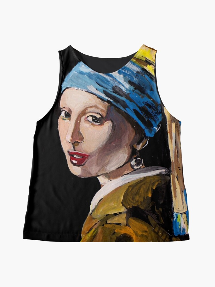 Alternate view of The Girl with the Pearl Earring Sleeveless Top
