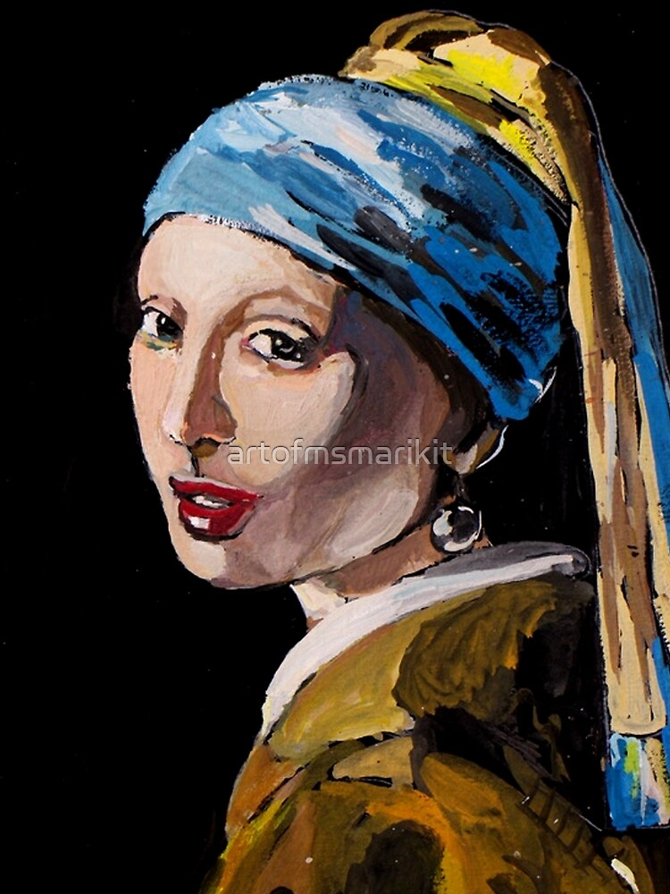 The Girl with the Pearl Earring by artofmsmarikit