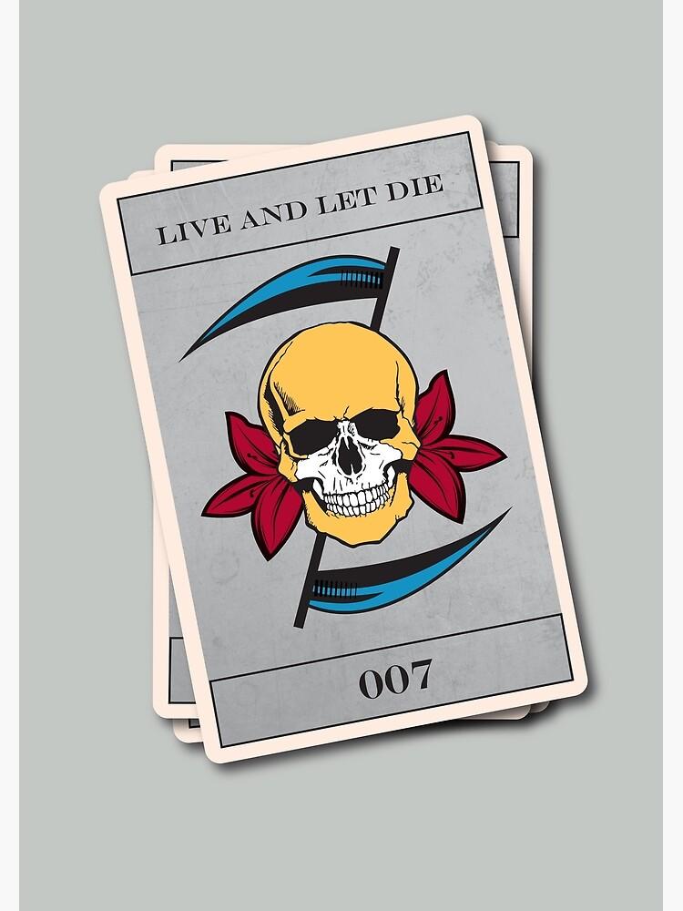 Live And Let Die by MoviePosterBoy