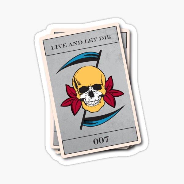 Vivre et laisser mourir Sticker