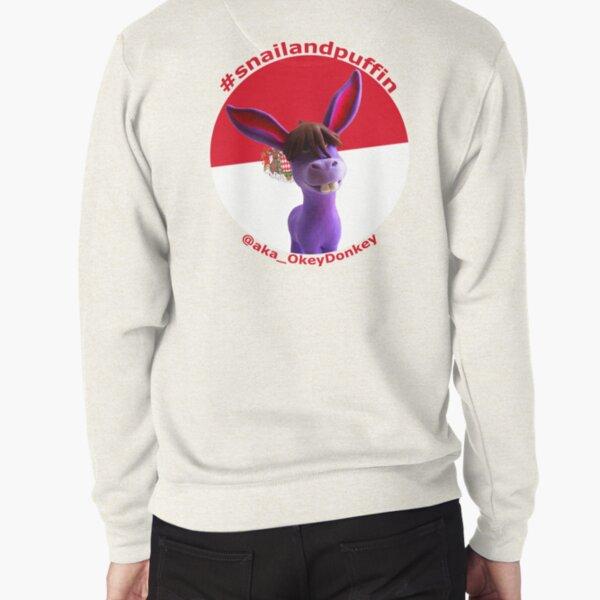 @aka_OkeyDonkey goes patriotic with Monte Carlo flag Pullover Sweatshirt