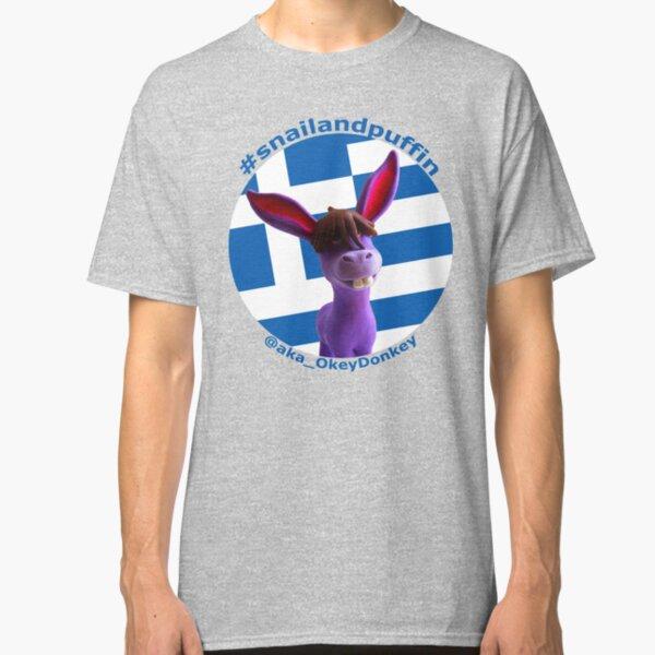 @aka_OkeyDonkey goes patriotic with Greek flag Classic T-Shirt