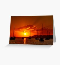 """Corio Dawn"" Greeting Card"