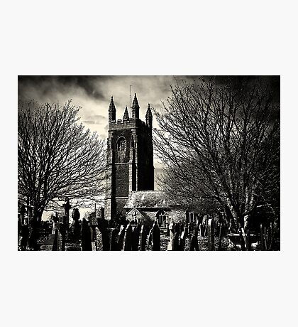 Edgcumbe Church Photographic Print
