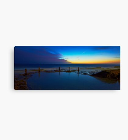 First Light - Ivo Rowe Pool  Canvas Print