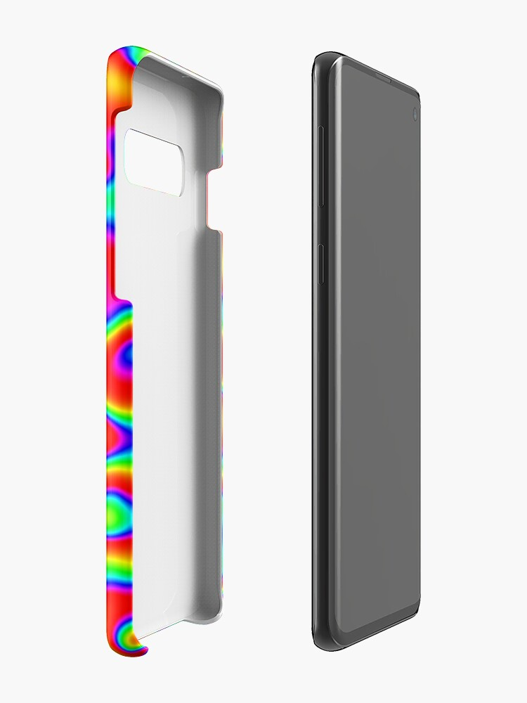 Alternate view of Rainbow Chaos Abstraction II Case & Skin for Samsung Galaxy