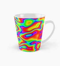 Rainbow Chaos Abstraction II Tall Mug
