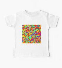 Rainbow Chaos Abstraction II Baby T-Shirt