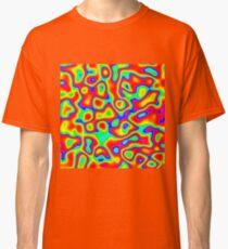 Rainbow Chaos Abstraction II Classic T-Shirt