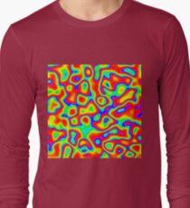 Rainbow Chaos Abstraction II Long Sleeve T-Shirt