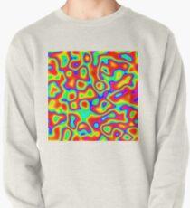 Rainbow Chaos Abstraction II Pullover Sweatshirt