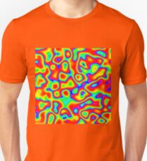 Rainbow Chaos Abstraction II Slim Fit T-Shirt