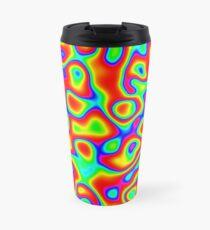Rainbow Chaos Abstraction II Travel Mug