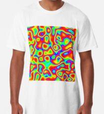 Rainbow Chaos Abstraction II Long T-Shirt