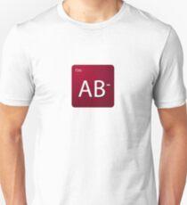 Blood Type - AB negative Unisex T-Shirt