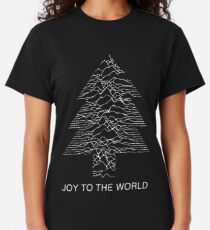 Joy To The World - Joy Division / Unknown Pleasures Christmas Classic T-Shirt