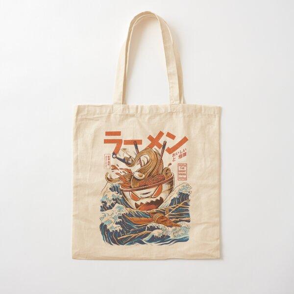 The Great Ramen off Kanagawa Cotton Tote Bag