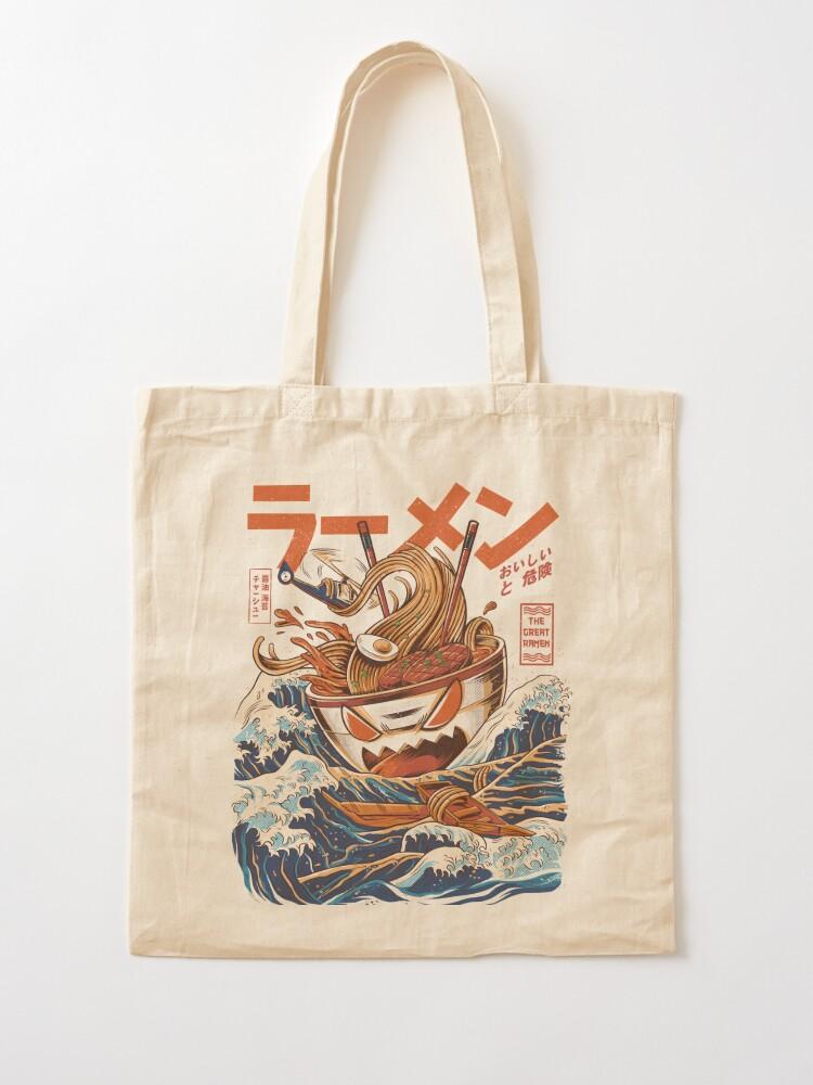 Alternate view of The Great Ramen off Kanagawa Tote Bag