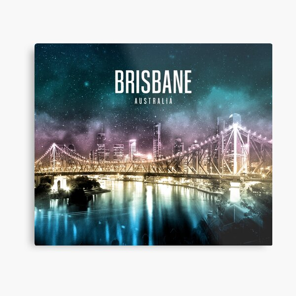 Brisbane - Australia Metal Print