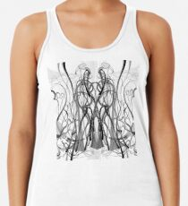 Mathengyger The Warrior, The Disciple and the Crucible of the Witness Racerback Tank Top