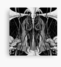 Mathengyger The Warrior, The Disciple and the Crucible of the Witness Canvas Print