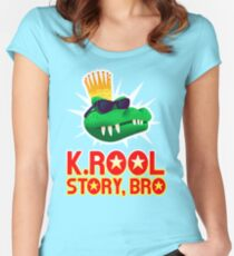 K.ROOL STORY BRO Fitted Scoop T-Shirt