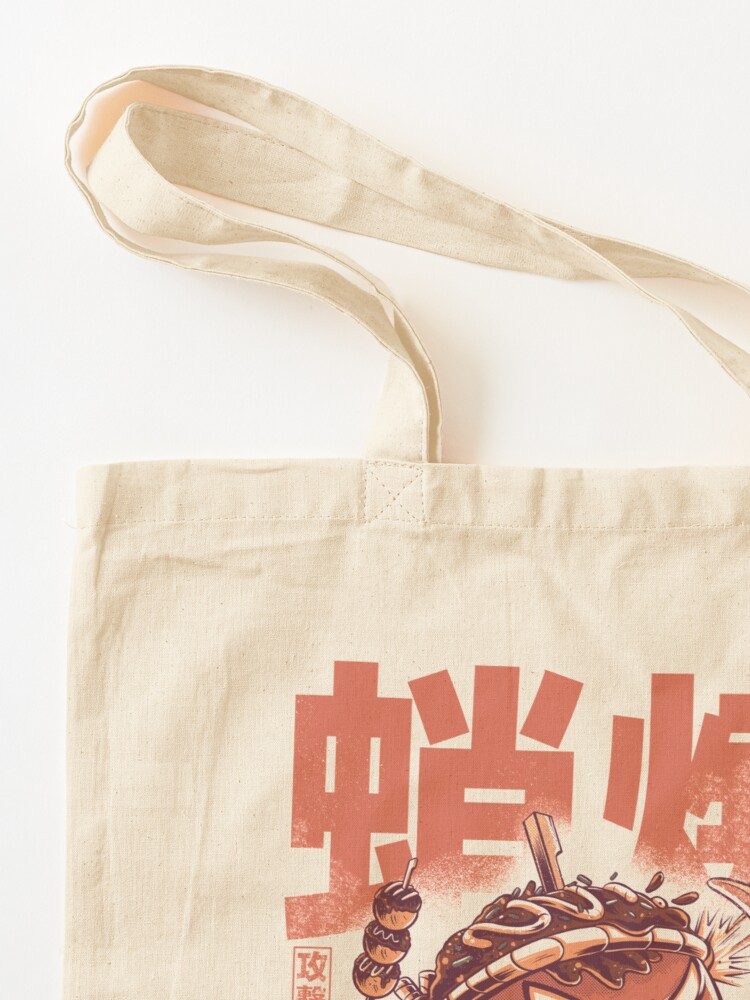 Alternate view of Takoyaki Attack Tote Bag