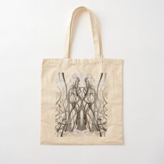 Mathengyger The Warrior, The Disciple and the Crucible of the Witness Cotton Tote Bag