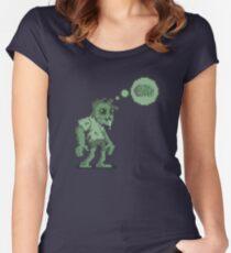 Braaaaaainnnsss.... Women's Fitted Scoop T-Shirt