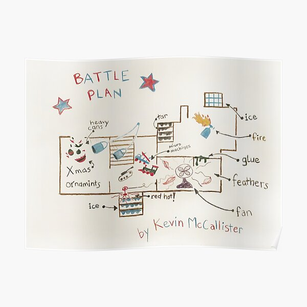 Kevin's Battle Plan Poster