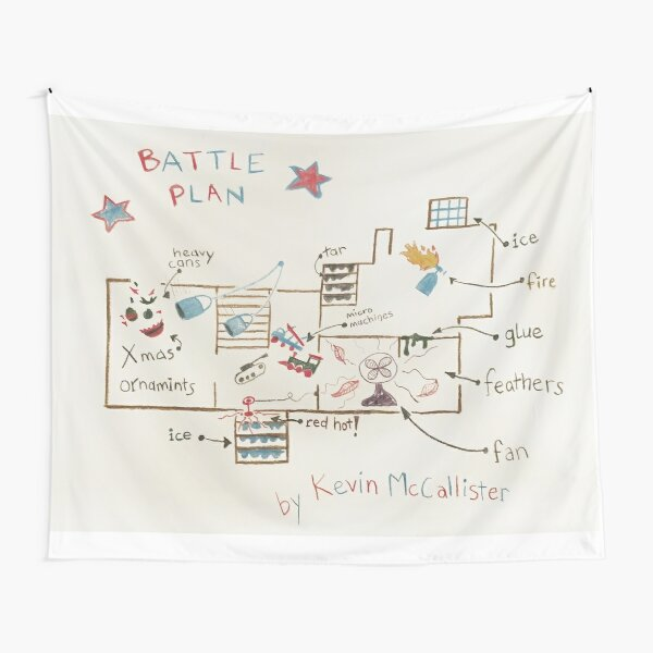 Kevin's Battle Plan Tapestry