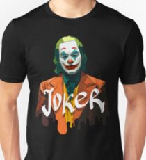 Joker movie - digital art - Joaquin Phoenix Slim Fit T-Shirt
