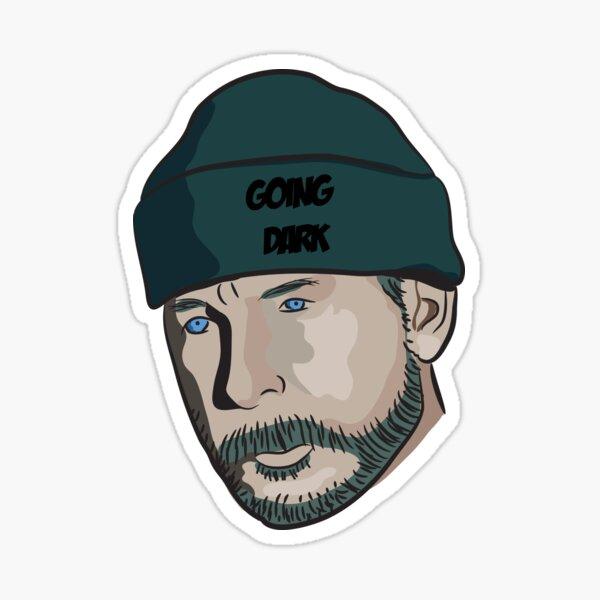 Cartoon Captain Price - GOING DARK Sticker
