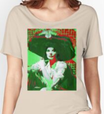 Madame Kate and the Big Hat Women's Relaxed Fit T-Shirt