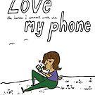 I love my phone by johanneVN