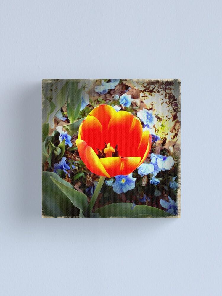 Alternate view of Tulip Canvas Print