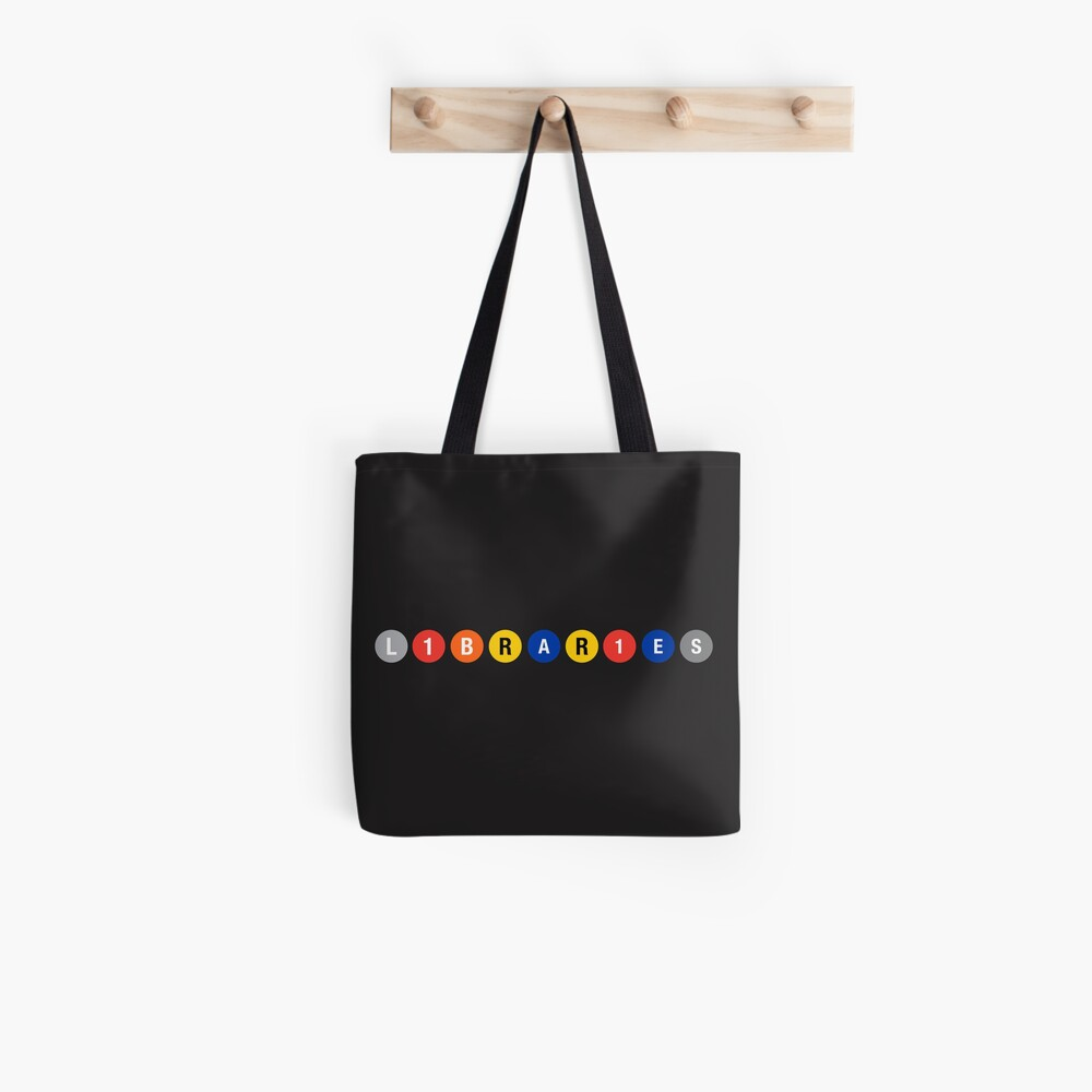 All Aboard the Library Train! Tote Bag
