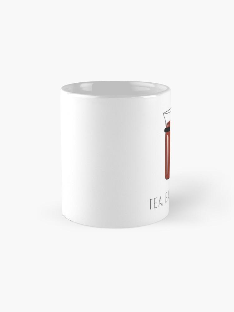 Alternate view of Tea, Earl Grey, Hot - Captain Picard, Star Trek TNG, (light backgrounds) Mug