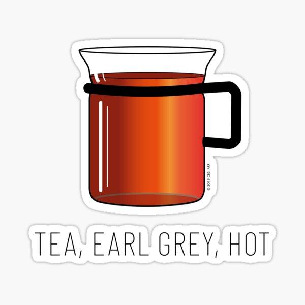 et boire du thé Sticker
