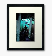 The Opium Den Framed Print